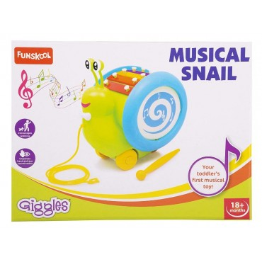 Giggles Musical Snail, Multi Color