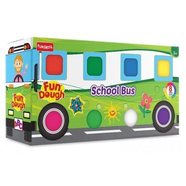 Funskool Fun Doh School Bus, Multi Color