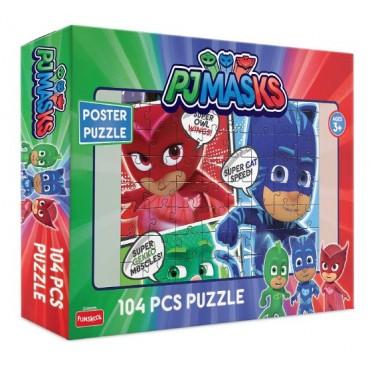 Funskool Puzzle for 3+, 104 Piece, Multicolour