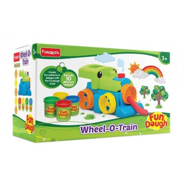 Fundough Wheel-O-Train, Playset for Kids!