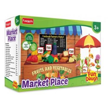 Funskool Market Place - Showcase Your Fundough Fruits & Vegetables