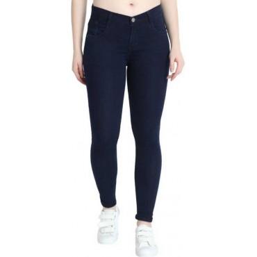 Skinny Women Dark blue Jeans