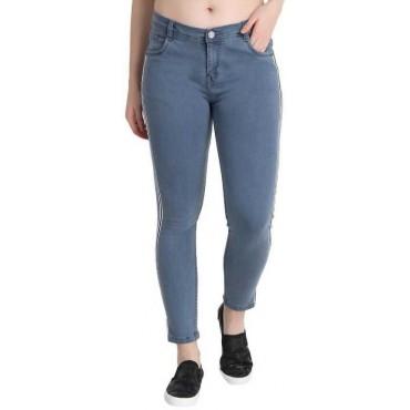 Regular Women Grey Jeans