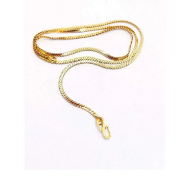 Classical gold plated chain for men / women