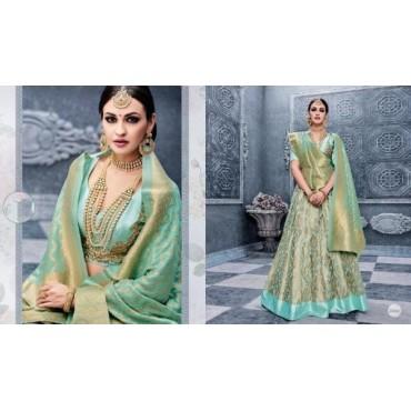 Banarasi Silk Lehenga Choli for Women's