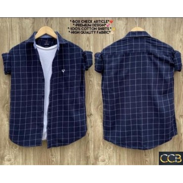 <h3><strong>cotton box checks shirts for mens</strong></h3><br> <p>   </p>      <p>this product will be not returnable</p>