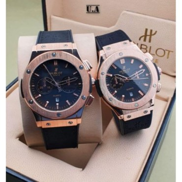<h3><strong>BLACK DIAL STRAP CHRONOGRAPH Couple WATCH</strong></h3><br> <p>   </p>      <p>this product will be not returnable</p>