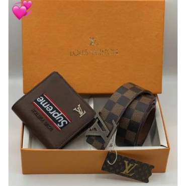 <h3><strong>Men's Wallet and Belt Combo</strong></h3><br> <p>   </p>      <p>this product will be not returnable</p>