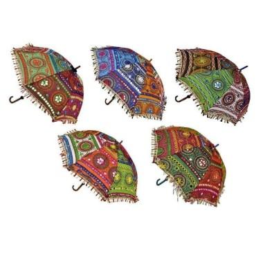 Colorful Design Rajasthani Umbrella 5piece combo