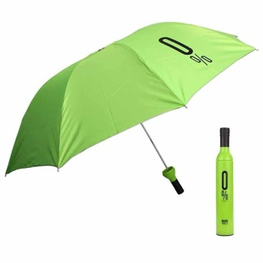 Double Layer Multicolor Umbrella | Umbrella with Bottle Cover | 3 Fold Umbrella with UV Protection | Umbrella for Men, Women and Children