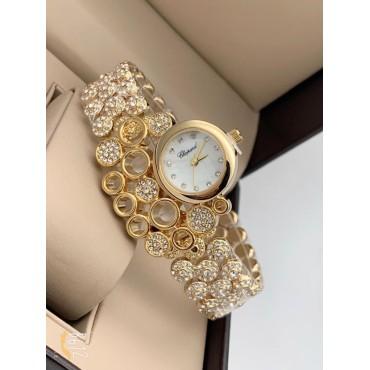 Diamond Studded Stylish Analogue Watch for Women