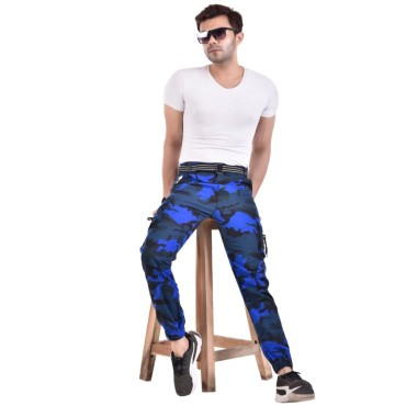 Men's Slim Fit Cargo Pants