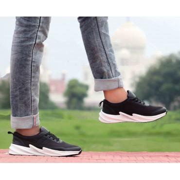 Black shark mens sports shoes