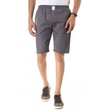 Light grey plain bermuda for mens and boys