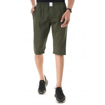 Green capri for mens and boys