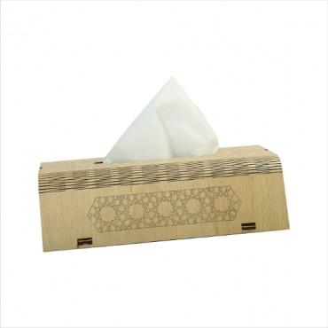 HV Enterprise Wooden Tissue Paper Box Rectangular Shape Napkin Holder use for car,Home and Office