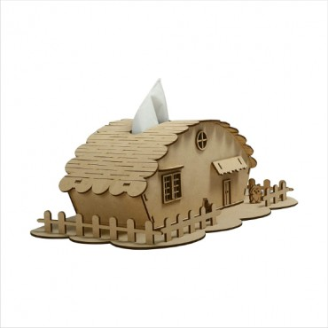 HV Enterprise Home Decorative Kitchen and Dining Table Wooden Tissue Stand and Paper Napkin Holder