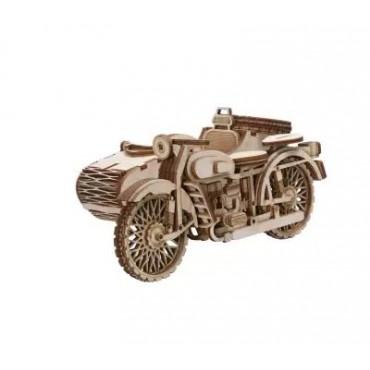 HV Enterprise Handcrafted Wooden Bullet Bike Motorcycle Antique Decorative Showpiece - Gifts Items - Home Decor